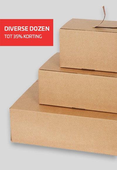 Kartonnen dozen in alle maten